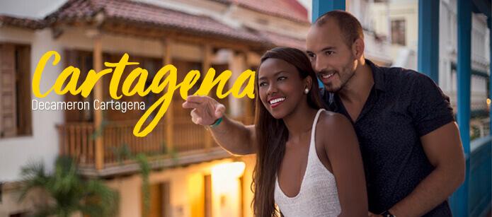 Vacaciones en el Caribe, Cartagena