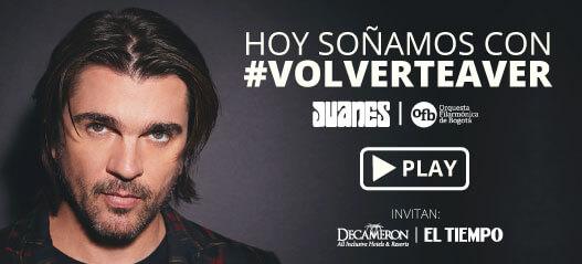 HOY SOÑAMOS CON #VOLVERTEAVER