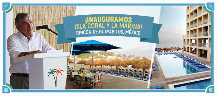 Inauguramos los Decameron Isla Coral y La Marina